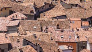 des toits à perte de vue